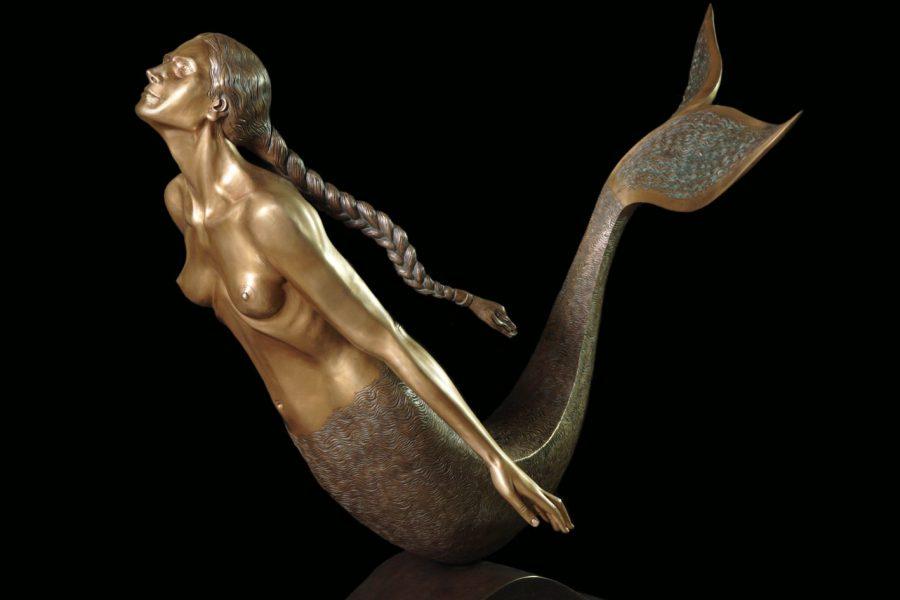 """L'uomo la sirena e il mare – La """"metamorfosi"""" nell'opera di Pietro Marchese"""